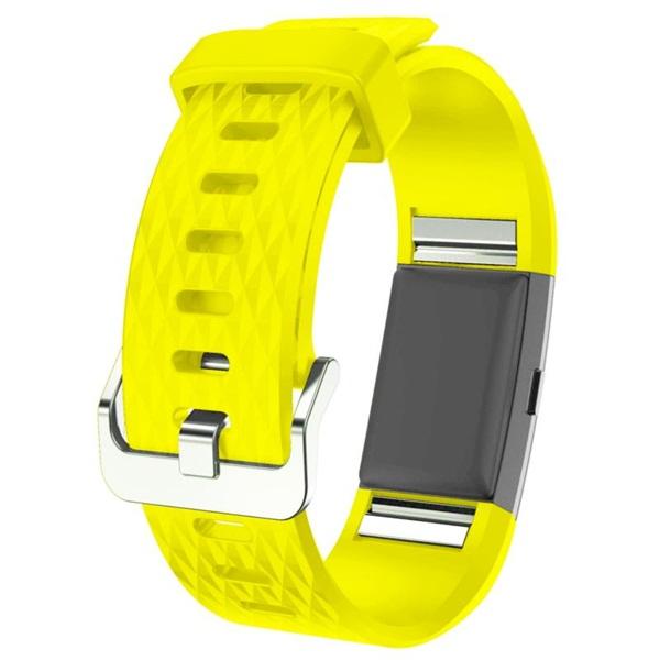 Bande en Silicone Souple Sangle de Remplacement Reglables Sport Accessorie pour Montre Connect/ée Fitbit Charge 2 Funband Bracelet Fitbit Charge 2 1 Pack Bleu