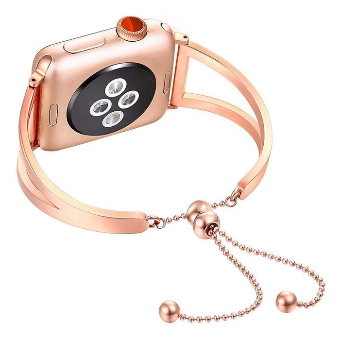 1d90e7c51 Apple Watch Band Released Splendid Stainless Steel Strap for Apple Watch  Band for Feminine Women Girls