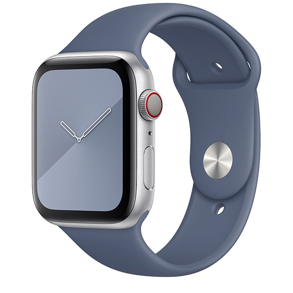 Correa Deportiva Apple Watch 40 44mm Azul De Alaska Regular Watchbandsmall